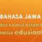 Materi Artikel Basa Jawa Miturut Kamus Besar Bahasa Indonesia (KBBI)